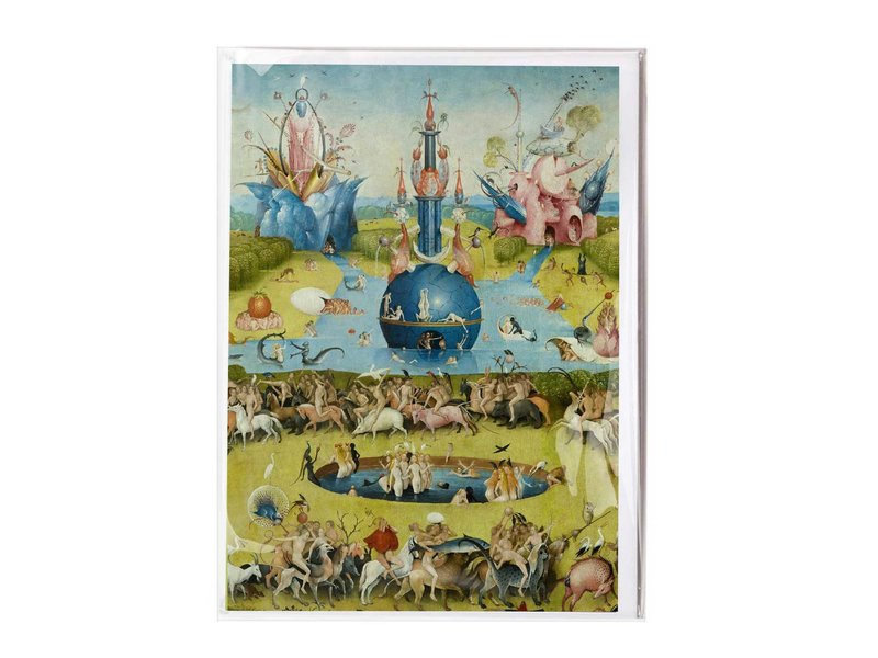 Double card with envelope , Jheronimus Bosch,
