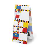 Magnetisches Lesezeichen, Mondrian - Victory Boogie Woogie