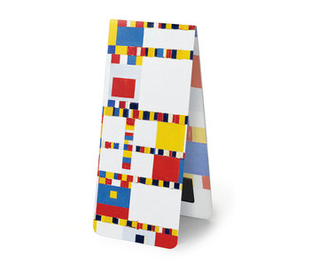 Marcapaginas magnético, Mondrian - Victory Boogie Woogie