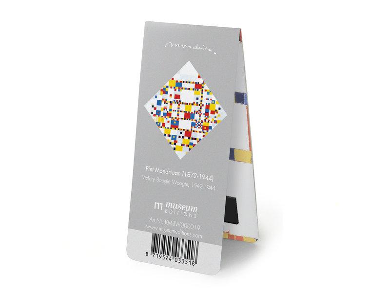 Magnetic Bookmark, Mondrian - Victory Boogie Woogie