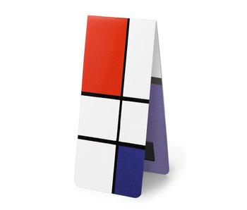 Marcapaginas magnético, Mondrian