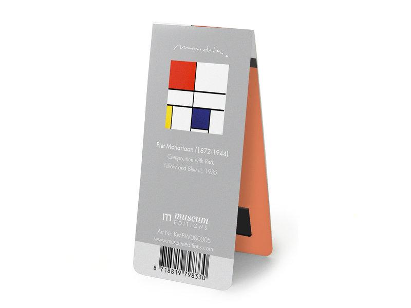 Magnetische Boekenlegger, Mondriaan