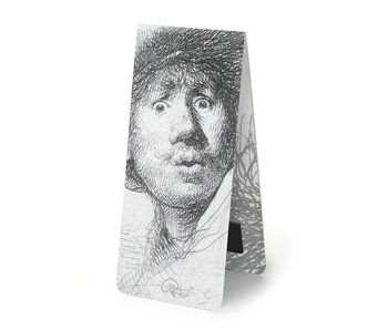 Magnetic bookmark , Curious Face, Rembrandt