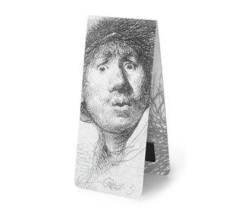 Magnetische Boekenlegger, Rembrandt, verbaasde blik