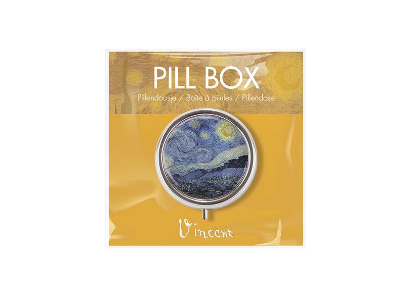 Boîte à pilules, La nuit étoilée, Vincent van Gogh