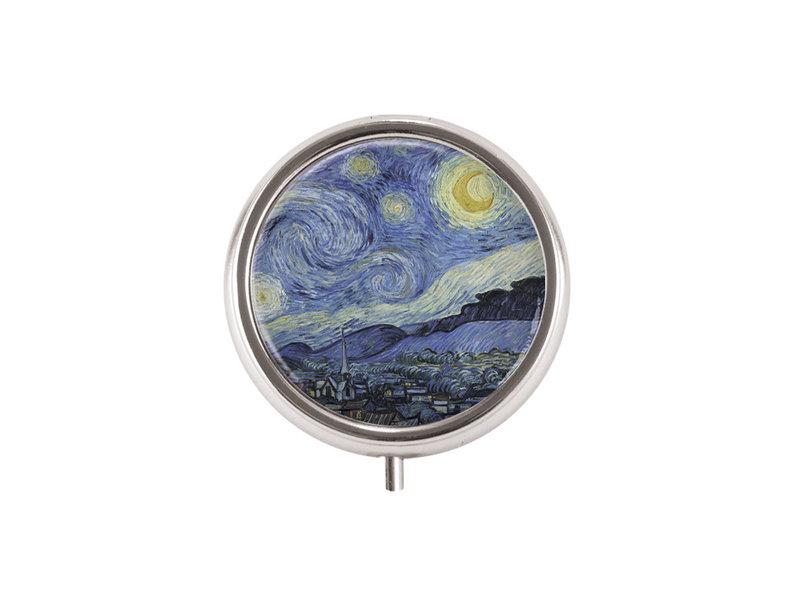 Pillendose,  Sternennacht, Vincent van Gogh
