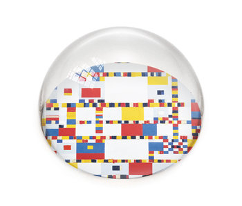 Glass Dome, Mondrian, Victory Boogie Woogie