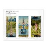 Set van 3, Magnetische boekenleggers Jheronimus Bosch
