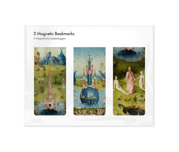 Set of 3, Magnetic bookmark, Jheronimus Bosch