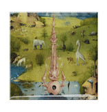 Magnet de réfrigérateur,  Le Jardin des délices, Hieronymus Bosch 1