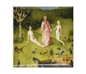 Koelkastmagneet, Tuin der Lusten, Jheronimus Bosch 2