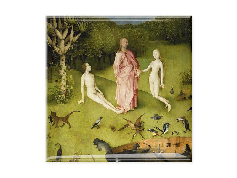 Koelkast magneet, Tuin der Lusten, Jheronimus Bosch 2