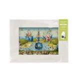 Passe-partout M,  40x18cm, Der Garten der Lüste, Hieronymus Bosch
