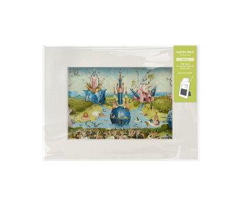 Passe-partout avec reproduction, M, Le Jardin des délices, Jheronimus Bosch
