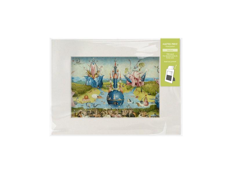 Passe-partout M,  40x18cm, Le Jardin des délices, JheroHieronymus nimus Bosch