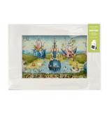 Passe-partout , 297 x 210cm,  Le Jardin des délices, Hieronymus Bosch