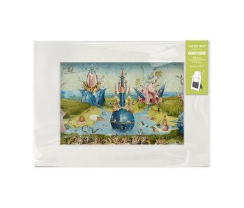 Passe-partout avec reproduction, L, Le Jardin des délices, Jheronimus Bosch