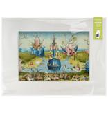 Passe-partout , 40 x 30 cm, Le Jardin des délices, Hieronymus Bosch