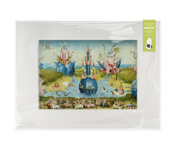 Matted print with reproduction, XL, J.Bosch, The Garden of Earthly Delights