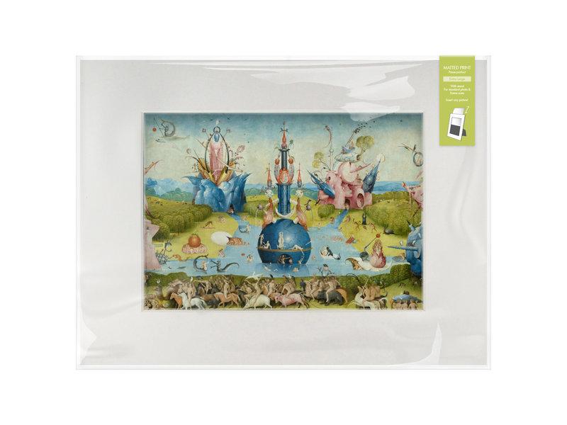 Passe-partout, L, 40 x 30 cm,  Le Jardin des délices, Hieronymus Bosch