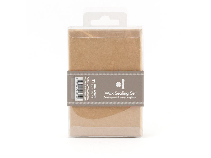 Wax sealing set, Snowflake stamp