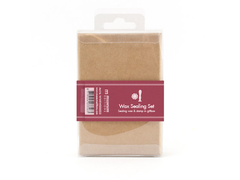 Wax sealing set, Rose  stamp