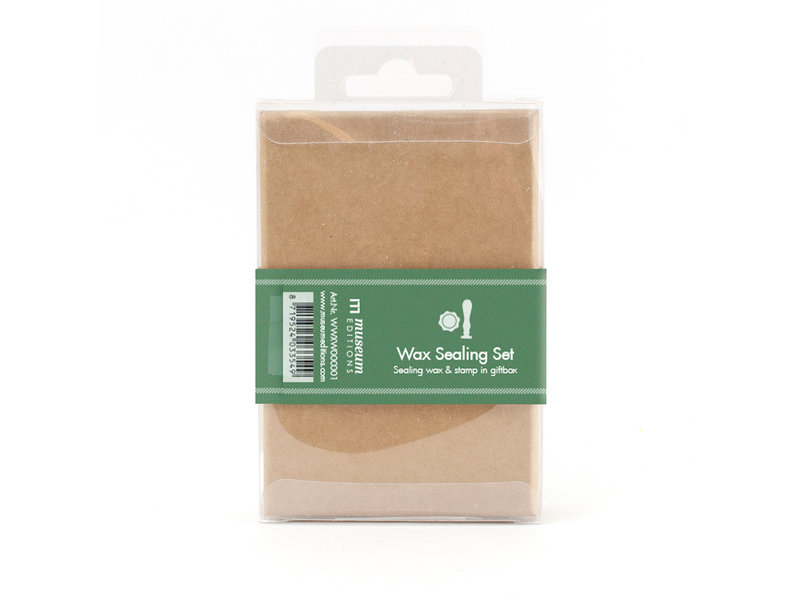 Wax sealing set, Crown  stamp