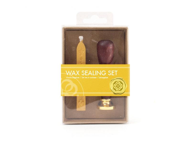 Wax sealing set, Cross stamp