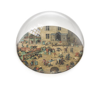 Pisapapeles de vidrio, Brueghel, Juegos infantiles