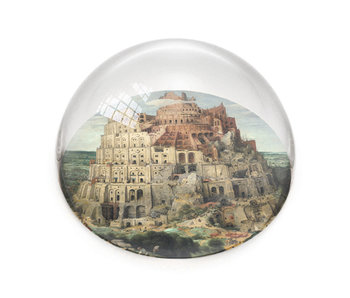 Glass Dome, Breughel, Tower of Babel
