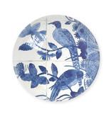 Presse-papier en verre,  Oiseaux bleus de Delft, Rijksmuseum