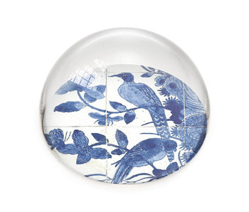 Glass Dome, Delft Blue birds, Rijksmuseum