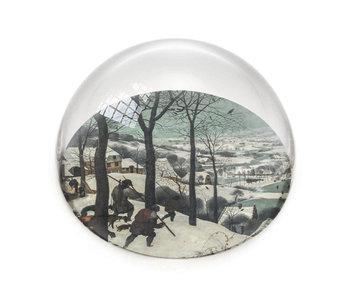 Glass Dome, Breughel, Hunters in the Snow