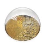 Glazen bolle  presse papier, Klimt