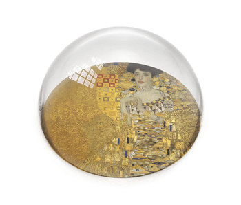 Presse-papier en verre, Klimt