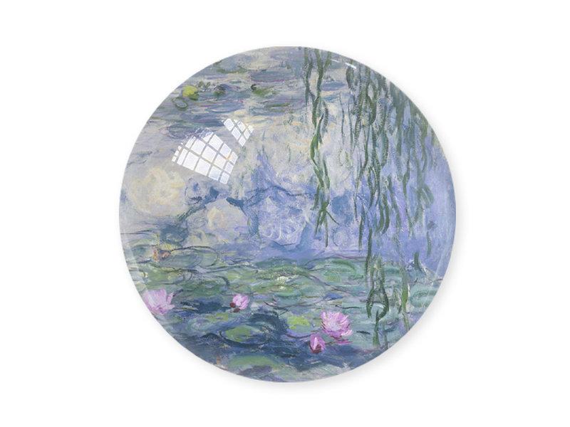 Briefbeschwerer,  Monet, Seerosen