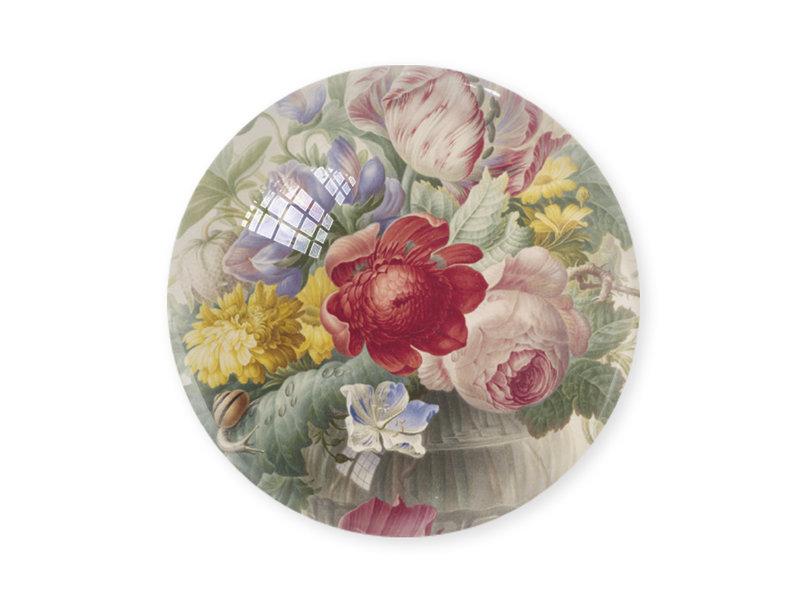 Glass Dome, Flower still life Henstenbugh