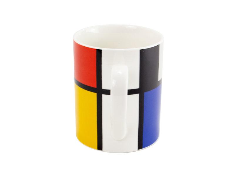 Tasse, Piet Mondrian