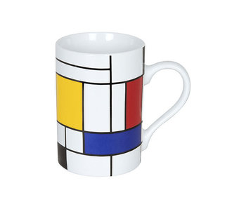 Taza, Homenaje a Mondrian - Grandes fragmentos