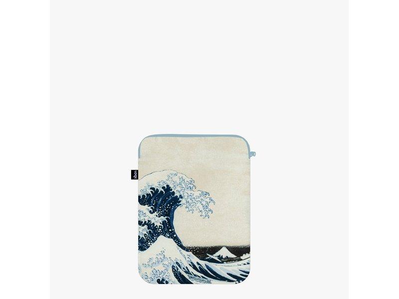 Laptop cover,  Hokusai, die große Welle
