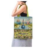 Cotton Tote Bag with lining,J. Bosch, Garden of Earthly Delights