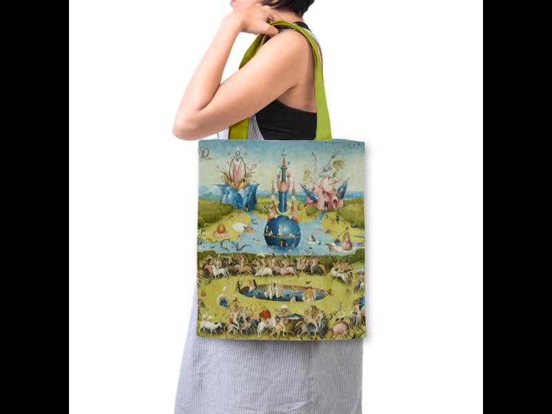 Gevoerde katoenen tas Luxe, J. Bosch, Tuin der Lusten