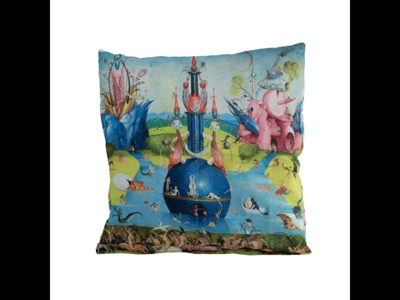 Housse de coussin, 45x45 cm, J. Bosch, Jardin des délices terrestres