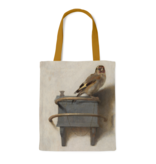 Cotton Tote Bag with lining, Fabritius, The Goldfinch