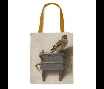 Bolsa de algodón Luxe, Fabritius, el jilguero