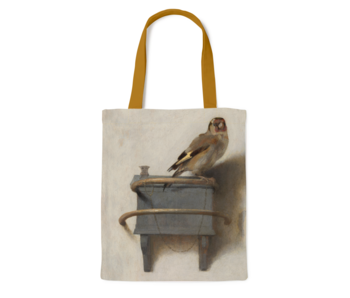 Cotton Tote Bag Luxe,  Fabritius, The Goldfinch