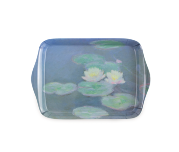 Minitablett, 21 x 14 cm, Monet, Seerosen im Abendlicht