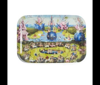 Bandeja laminada grande, El jardín de las delicias, Jheronimus Bosch