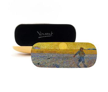 Brillenkoker, De zaaier , Van Gogh