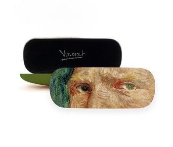 Brillenkoker,  Zelfprotret, Vincent van Gogh